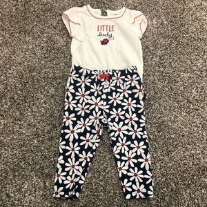 Baby Girls 2 Piece Matching Outfit